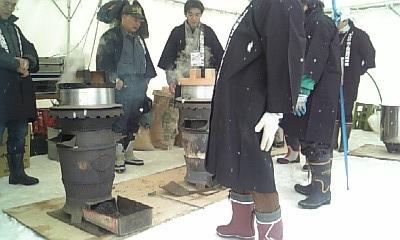 ぬか釜で炊いたコシヒカリ