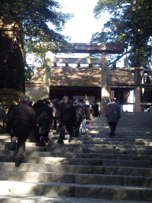 2011年伊勢神宮初詣