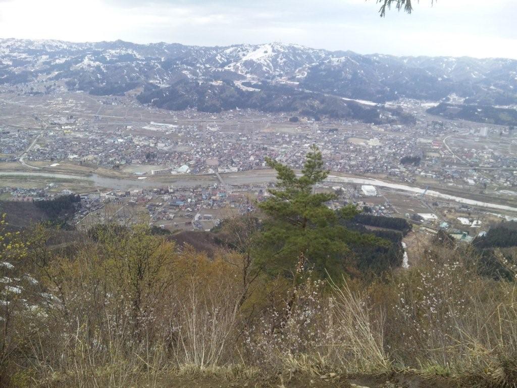 坂戸山、2011<br />  年初登山