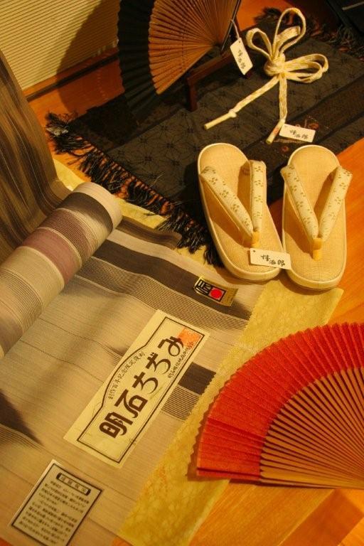 伝統的工芸品「十日町明石ちぢみ」&ゆかたコレクション2011
