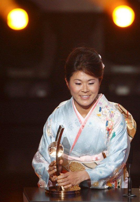 澤穂希選手が表彰式で使用していた袋帯