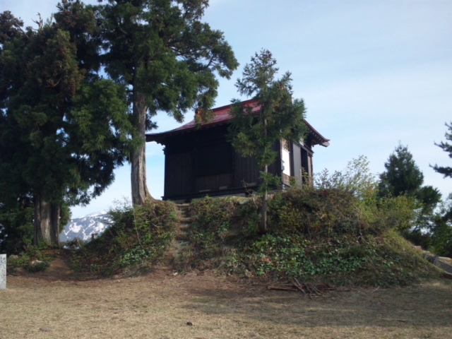 2012年、坂戸山初登頂