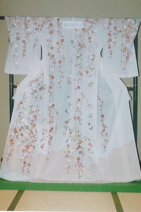本日の「花嫁のれん3」、吉澤織物の訪問着