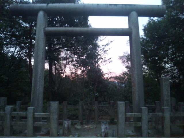 「日向大神宮」への散歩