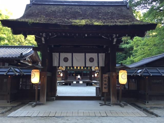 今朝は京都です。