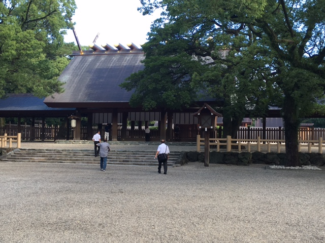 名古屋にいます。
