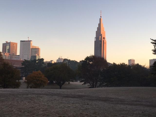 今朝の東京