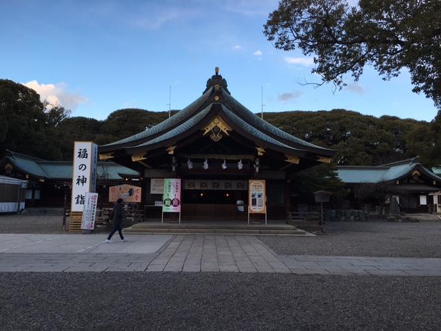 初詣@真清田神社