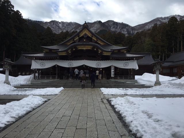 初詣@弥彦神社