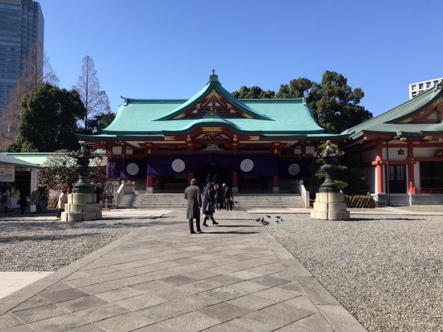 参拝@山王日枝神社