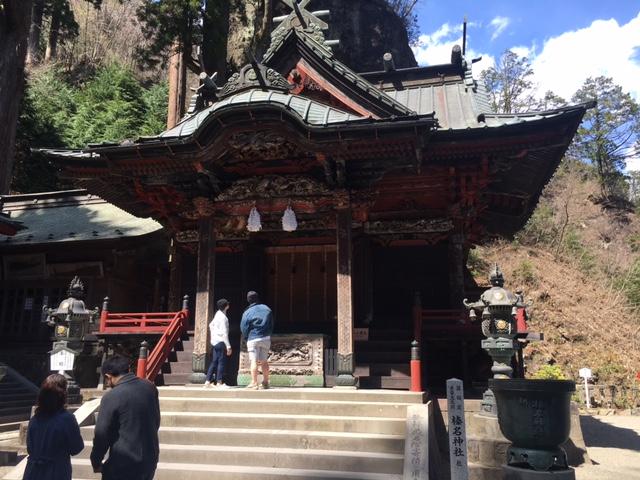 榛名神社へ初参拝