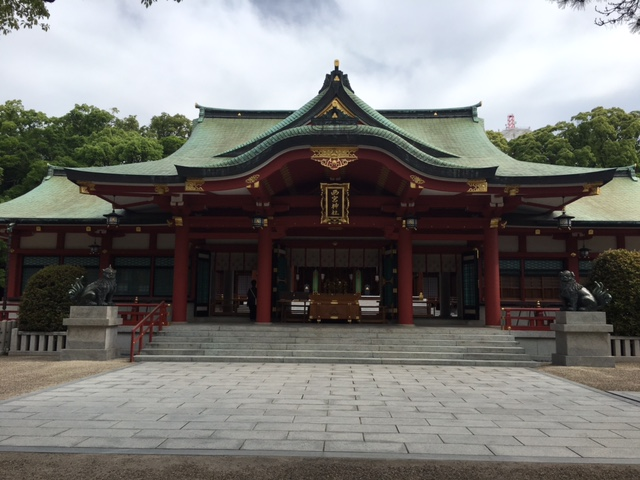 参拝@西宮神社