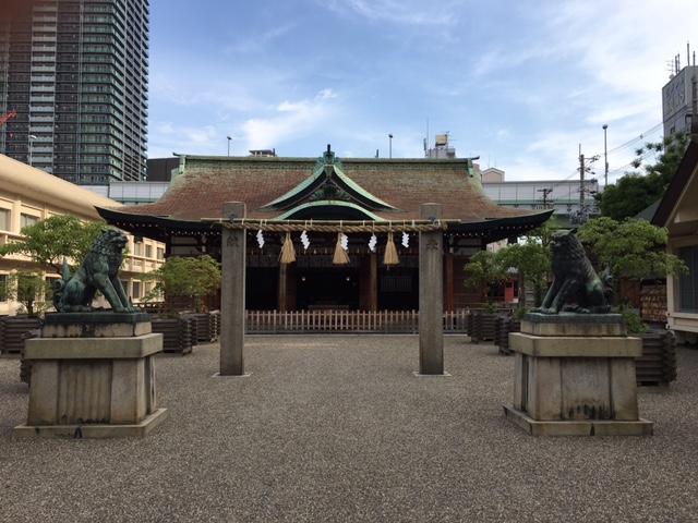 参拝@今宮戎神社