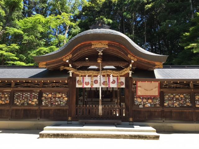 参拝@鷺宮神社