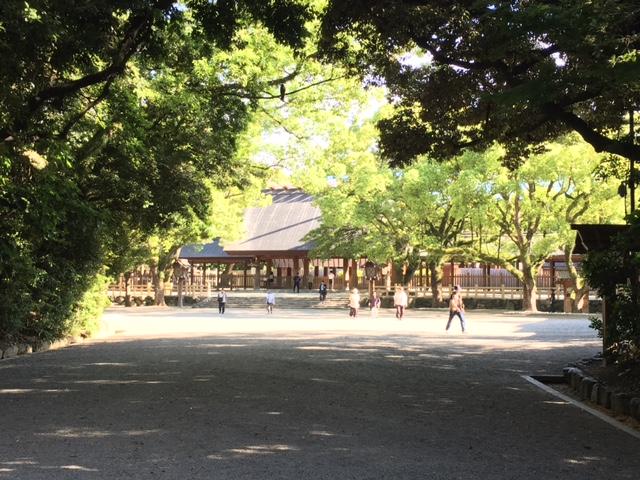初夏に参拝@<br />  熱田神宮