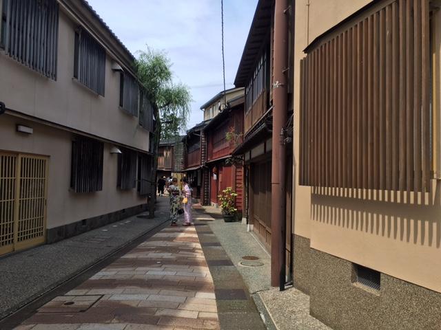 金沢・東茶屋街