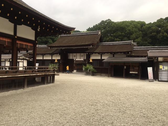 京都散歩(参詣@<br />  下鴨神社)