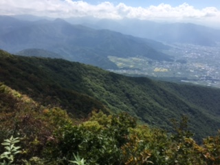 高社山登山