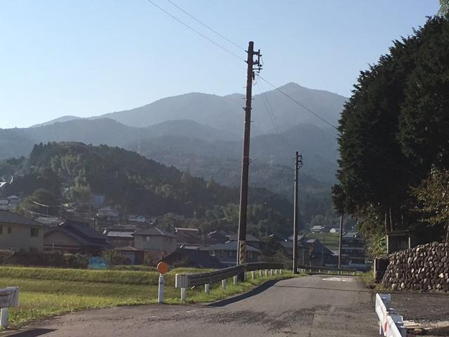 経ケ峰、登山。