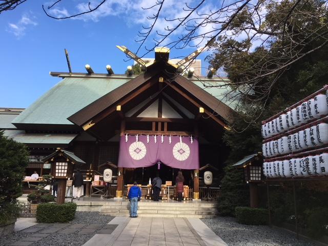 参拝@東京大神宮