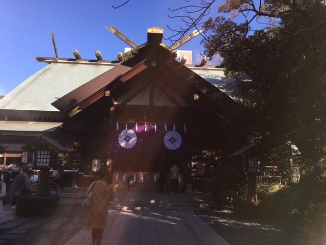 初詣@東京大神宮&<br />  日枝神社