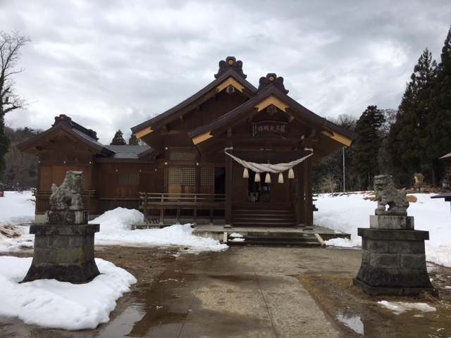 初詣@居多神社