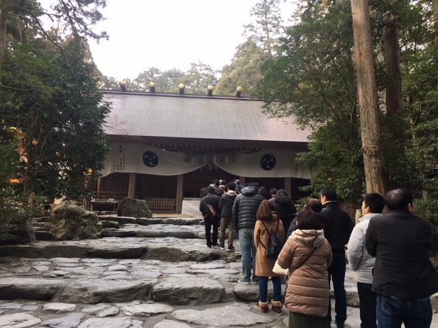 初詣@椿大神社
