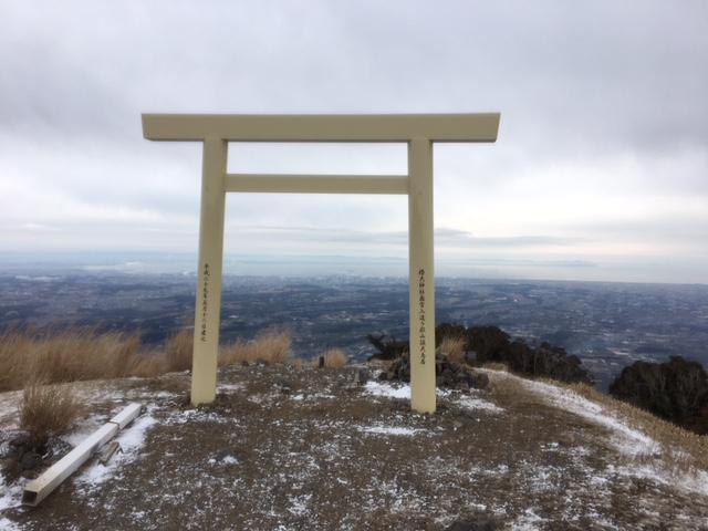 初詣@椿大神社奥の院