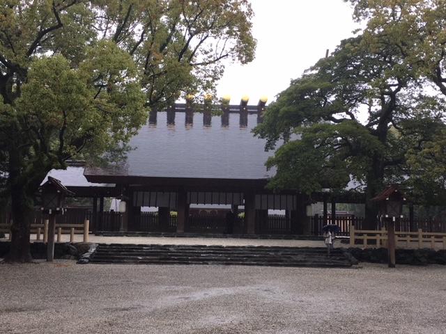 参拝@桜開花の熱田神宮
