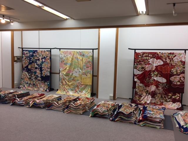 吉澤織物京都販売会