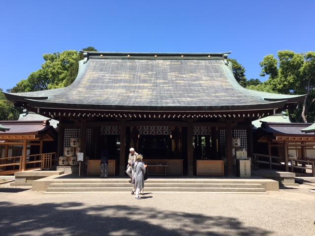 参拝@武蔵一宮氷川神社と「かのうや」のうなぎ