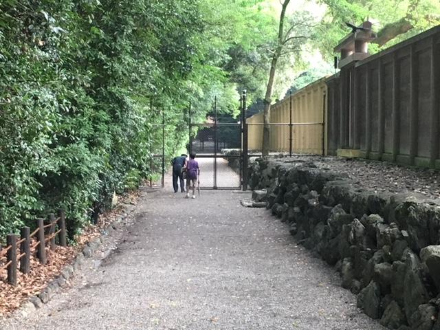 参拝@真夏の熱田神宮
