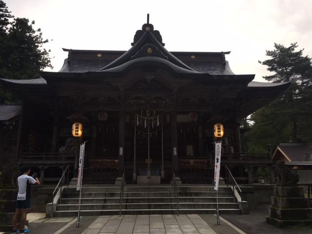 参拝@蒼紫神社